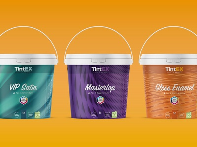 TintEX Paint Packaging