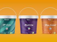 TintEX Paint Packaging