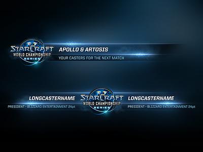 Starcraft II Lowerthirds gaming esl wcs esport starcraft blizzard