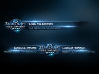Starcraft II Lowerthirds