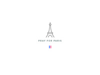 #PrayForParis | Logo
