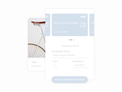 002 Credit card checkout | Daily UI ui daily | checkout card credit 002