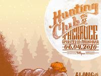 Huntingclub saucebar poster2