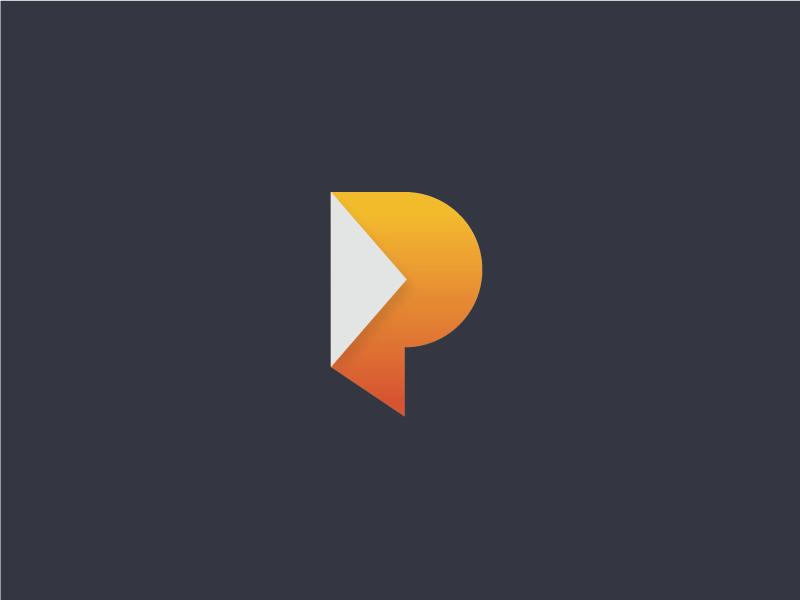 Mo P vector branding p