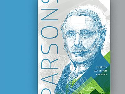 Charles Algernon Parsons inspiration poster engineer illustration