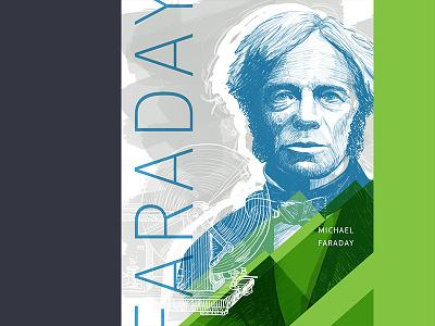 Michael Faraday rd poster engineer illustration
