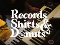 Records Shirts & Donuts