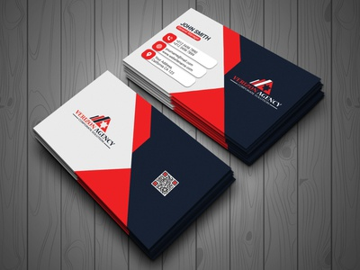 Corporate Business Card Design ux ui colorful logo illustration design corporate clean design business card branding