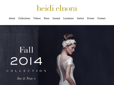 Heidi Elnora Facelift website photo wedding dresses page web heidi elnora fall 2014