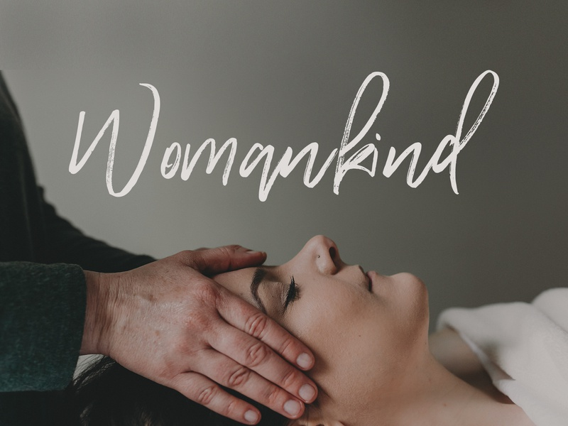 Womankind Branding woman massage wellness wordpress storybrand logo brand website