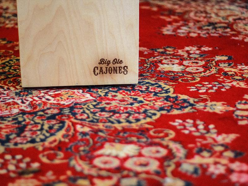 Big Ole Cajones woodworking photography brand logo