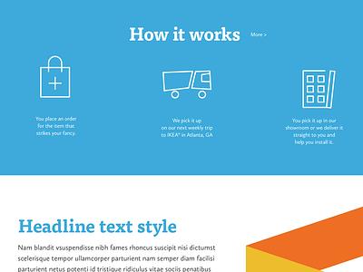 ModerNash Website + Store design system ui service homepage ecommerce web design website