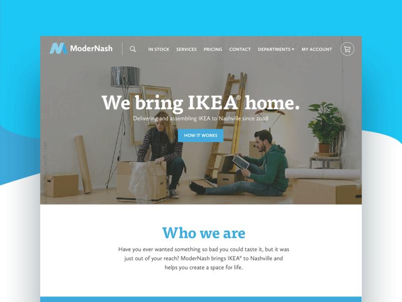 ModerNash Website + Store