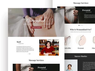 Womankind Website