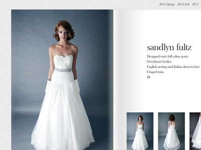 Heidi Elnora Dress Page 2x website ui wedding dress book page
