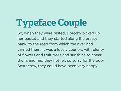 Typeface Coupling II typeface font adelle gotham