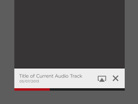 Live Stream Audio Player