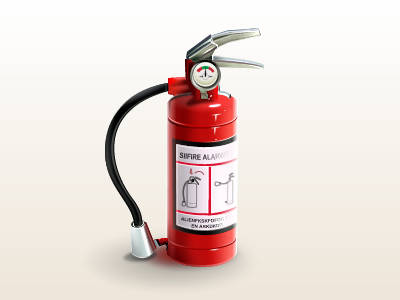 Fire extinguisher vezstudio ui icons icon fire extinguisher gift