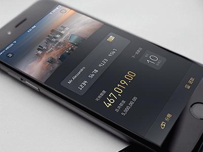 Black Card Design  financial gold card black design heika