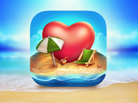 Ios icon for Paradise Island2