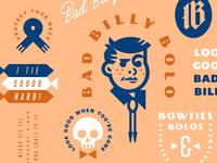 Bad Billy Bolo bad kid child type tie bolotie boy