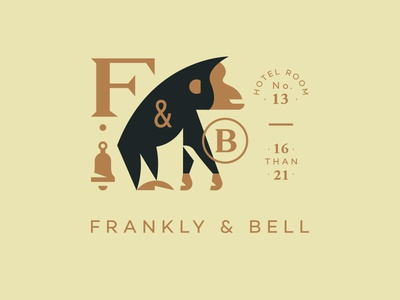 Frankly & Bell bell hotel animal chimp ape monkey