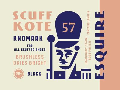 Scuff Kote polish shoe leader drum major