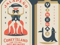 Coney Island Labels