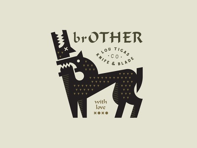 brOTHER head animal brother fight bit dogs