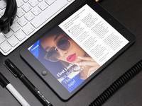 Ipad Magazine Concept