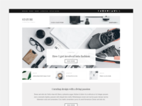 Stature - Lifestyle Blog Theme - Home