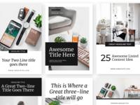 Brook Pinterest Optimized Canva Template