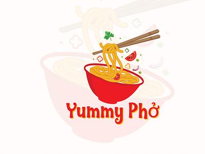 noodles logo vector bold design clean branding creative logo logodesign foodservice fooddrink restaurant food track noodles food