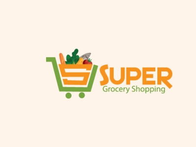 Super grocery logo shopping cart cart grocery store business truck retail store retail business shopping business market logo market grocery shop grocery shopping grocery supershop logo shop supershop retail dribbble fiverr grapixbylis