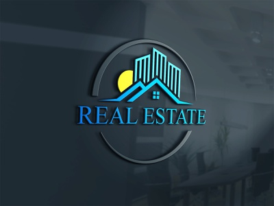 Real Estate Logo insurance rental elite building architecture apartment property house home corporate city build creative company logo minimalist realty construction mortgage real estate grapixbylis