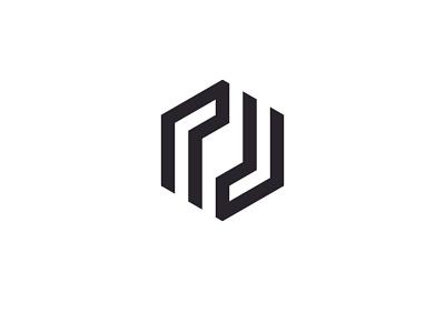 nu logo nu logo nu polygonal nu polygonal logo unique professional brand logo modan vector illustration grapixbylis design clean branding logo creative