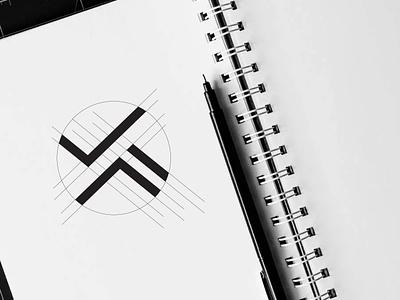 VM letter logo logo design letter logo vm letter logo vm logo vm vector grapixbylis design clean creative branding logo graphic design