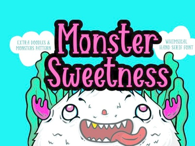 Monster Sweetness by 7NTypes cartoonfont font freefont typography