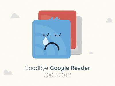 Goodbye Google Reader...