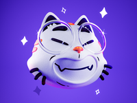 Gato funn character zbrush illustration cinema4d character design 3d miketopus cat