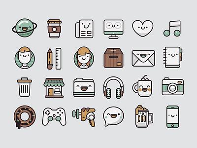 Pamoke: Free Icon Set outline pamoke free icons retro
