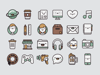 Pamoke: Free Icon Set