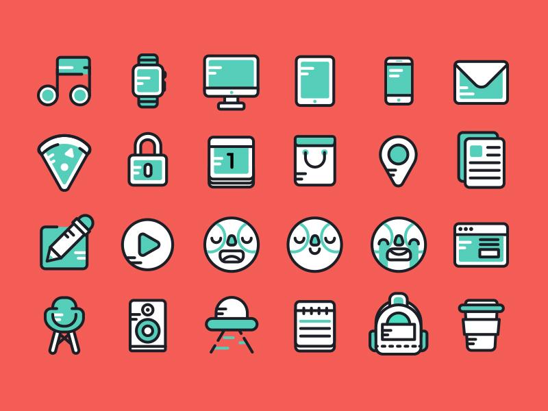Twoo: Free Icon Set iconset twoo icons free outline