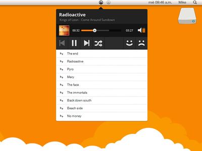 Grooveshark OS X app & Rebound this!