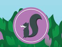 Squirrel Stash Nuts Signature Series Labels