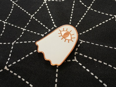 All-Seeing Ghost Enamel Pin