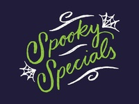Spooky Specials Lettering