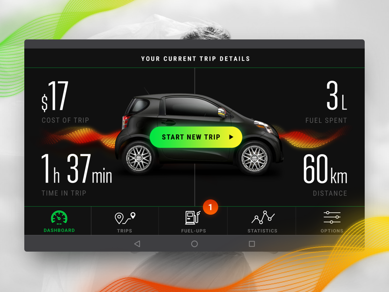 Fuel Tracking System by Anastasiia Trofymenko on Dribbble