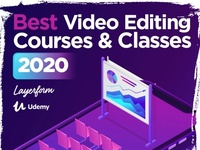 The Best Video Editing Courses for 2020 animation video graphicdesign cinema4d premierepro videoediting motiongraphics