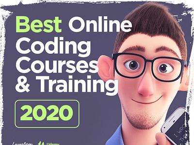Best Online Coding Courses 2020 programming language cinema4d 3ddesign 3dcharacter gamedesigner code coder webdesigner webdesign javascript programmer programming coding